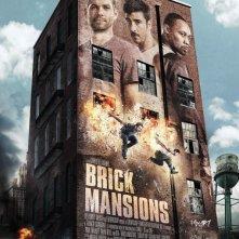 Brick Mansions: la locandina del film