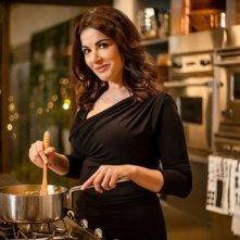 Nigella Lawson, una immagine della chef televisiva britannica