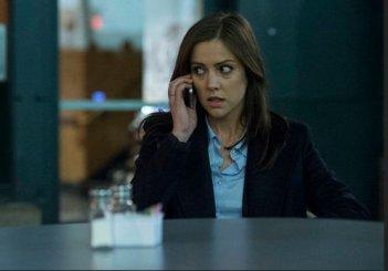 The Following: Jessica Stroup in una scena dell'episodio Family Affair
