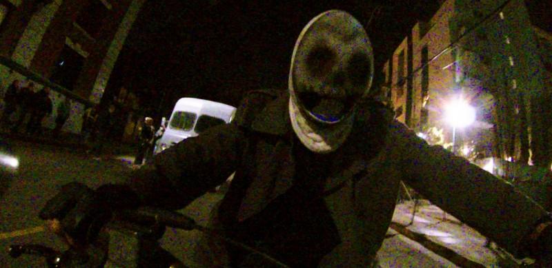 La notte del giudizio - Anarchia: un'inquietante scena del film