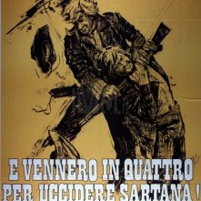 ...e vennero in quattro per uccidere Sartana!: la locandina del film