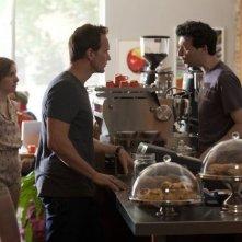 Girls: Lena Dunham, Patrick Wilson e Alex Karpovsky nell'episodio One Man's Trash della seconda stagione della serie