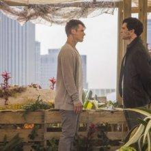 Star-Crossed: Johnathon Schaech e Matt Lanter in una scena dell'episodio These Violent Delights Have Violent Ends