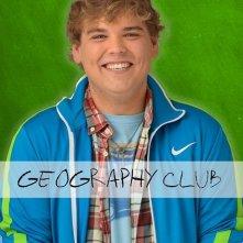 Andrew Caldwell in una foto promozionale di Geography Club.
