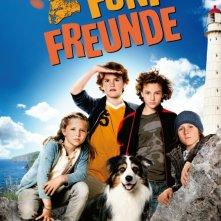 Fünf Freunde: la locandina del film