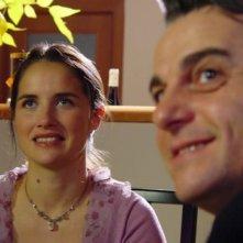 Karine Lazard (Karen), Mircea Rusu (Daniel) in 'Tutta la verita su mio marito' (2003)