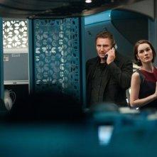 Non-Stop: Liam Neeson in una immagine del film