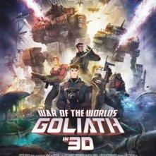 War of the Worlds: Goliath: la locandina del film