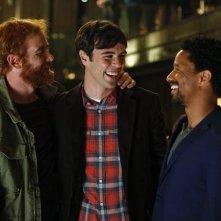 Mixology: Blake Lee, Craig Frank ed Andrew Santino in una scena della serie