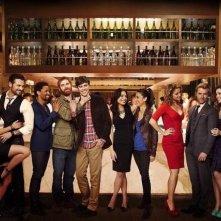 Mixology: una foto promozionale del cast della serie
