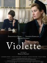 Violette: la locandina del film