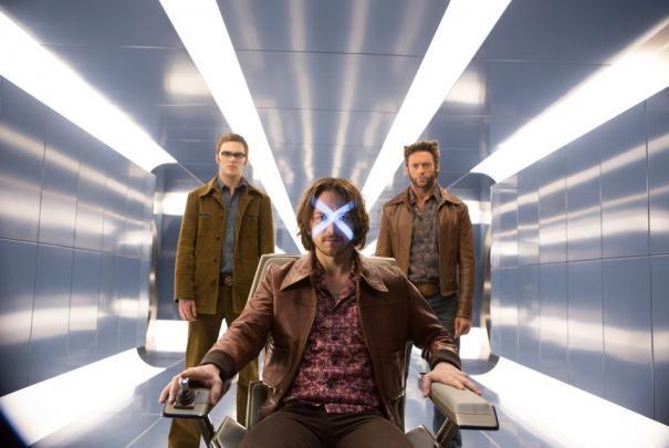 X-Men: Giorni di un futuro passato - Hugh Jackman, Nicholas Hoult e James McAvoy in azione