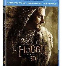 La copertina di Lo Hobbit: la desolazione di Smaug 3D (blu-ray)