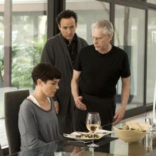 Maps to the stars: John Cusack sul set del film con David Cronenberg e Olivia Williams