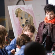 Words and Pictures: Juliette Binoche in una delle prime immagini del film