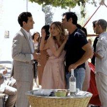 Allacciate le cinture: Francesco Arca con Carolina Crescentini e Francesco Scianna in una scena