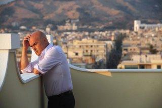 Il giudice meschino: Luca Zingaretti in una scena della fiction
