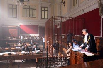 Il giudice meschino: una scena della fiction