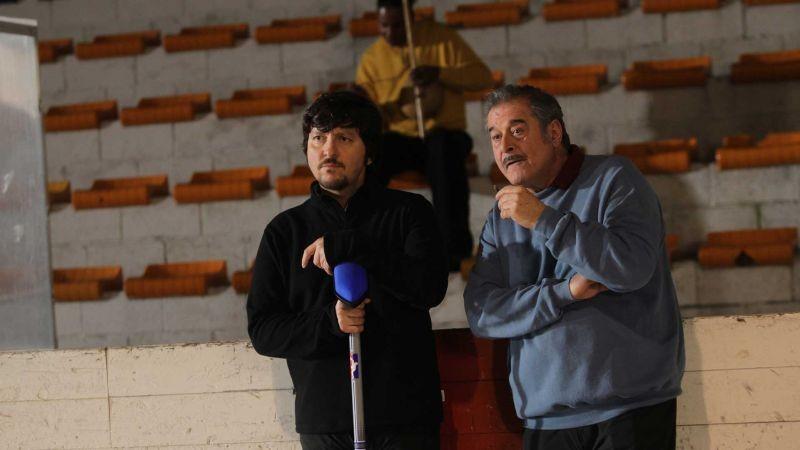La Mossa Del Pinguino Ennio Fantastichini E Ricky Memphis In Una Scena 300190