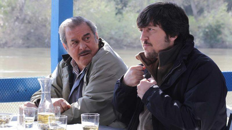 La Mossa Del Pinguino Ennio Fantastichini E Ricky Memphis In Una Scena Tratta Dal Film 300194