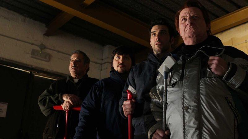 La Mossa Del Pinguino I Quattro Protagonisti Del Film In Una Scena 300187