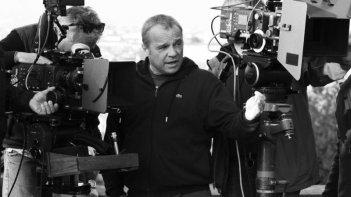 La mossa del pinguino: il regista del film, Claudio Amendola, sul set