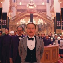 The Grand Budapest Hotel: Owen Wilson in una scena
