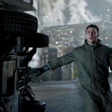 Godzilla: Aaron Taylor-Johnson in una scena