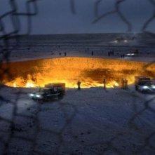 Godzilla: un cratere esaminato dall'esercito
