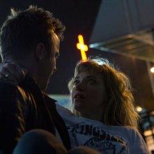 Need for Speed: Aaron Paul salva Imogen Poots in una scena del film