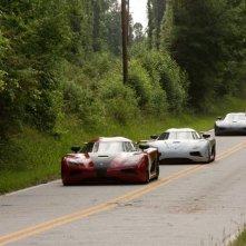 Need for speed: le auto 'protagoniste' in una scena del film