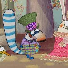 Pipì, Pupù e Rosmarina: Un'immagine dallo special Il flauto magico