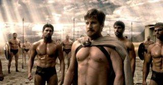 300 - L'alba di un impero: David Wenham in una scena tratta dal film