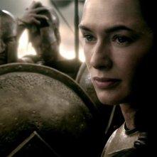 300 - L'alba di un impero: Lena Headey è la regina Gorgo in una scena del film