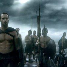 300 - L'alba di un impero: Sullivan Stapleton è Temistocle in una scena del film