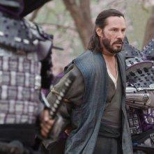 47 Ronin: Keanu Reeves catturato in una scena del film