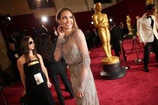 Angelina Jolie sul red carpet degli Oscar 2014