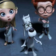 Mr. Peabody e Sherman: Sherman con Mr. Peabobody e Penny in una scena del film d'animazione