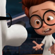 Mr. Peabody e Sherman: Sherman insieme a Mr. Peabody in una scena del film animato