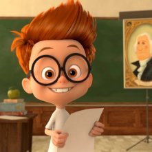 Mr. Peabody e Sherman: Sherman sorridente in una scena del film animato