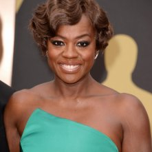 Oscar 2014 - Viola Davis sul red carpet.