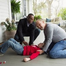 Resurrection: Landon Gimenez, Kurtwood Smith, Omar Epps in una scena