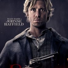 Matt Barr in Hatfields & McCoys - character poster