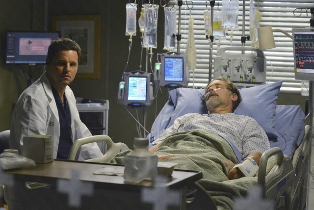 Grey S Anatomy James Remar E Justin Chambers Nell Episodio Take It Back 300750