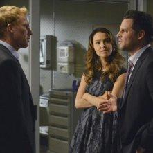 Grey's Anatomy: Kevin McKidd, Camilla Luddington e Justin Chambers nell'episodio Take It Back