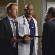 Grey's Anatomy: Kevin McKidd, James Pickens e Justin Chambers nell'episodio Take It Back