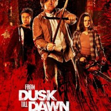From Dusk Till Dawn: The Series: Robert Patrick e Madison Davenport in un manifesto promozionale