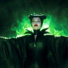 Malefica: una spettacolare immagine di Angelina Jolie