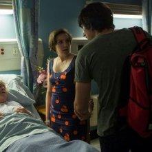 Girls: Lena Dunham durante una scena dell'episodio Flo