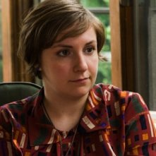 Girls: Lena Dunham in un momento dell'episodio Flo